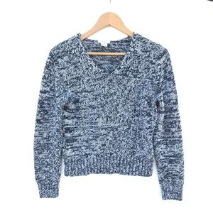 Ann Taylor LOFT V-Neck Knit Sweater Size M